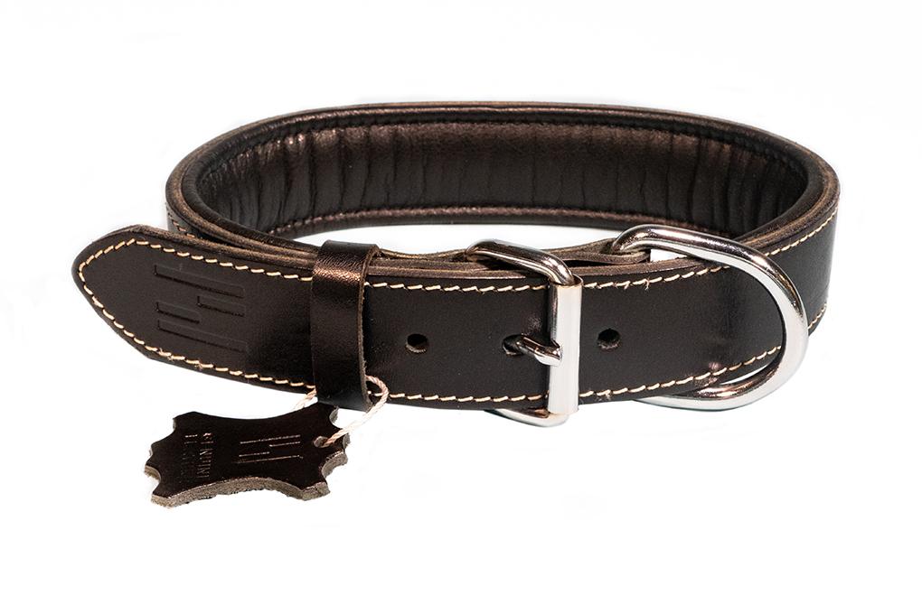 Hundehalsband Premium 100% Leder